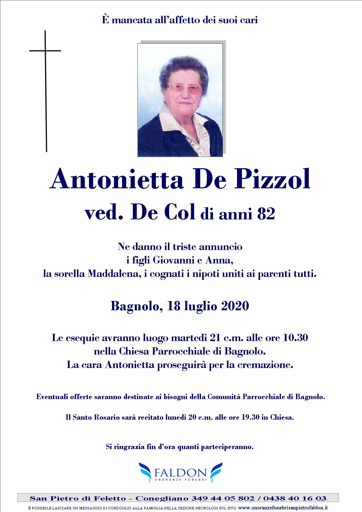Antonietta De Pizzol
