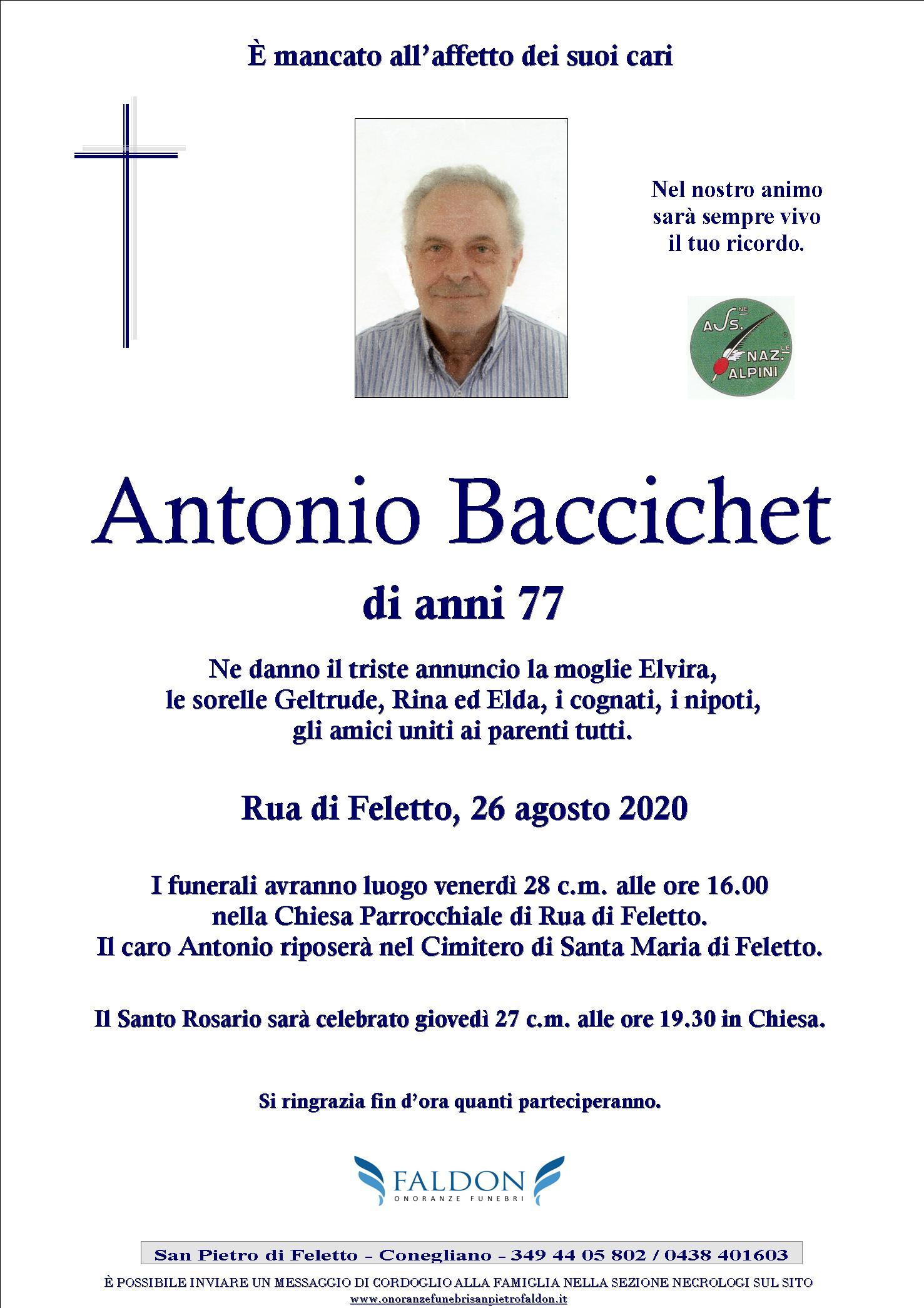Antonio Baccichet
