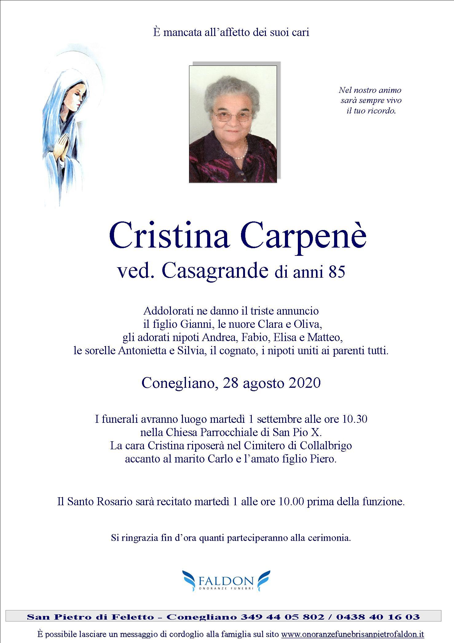 Cristina Carpenè