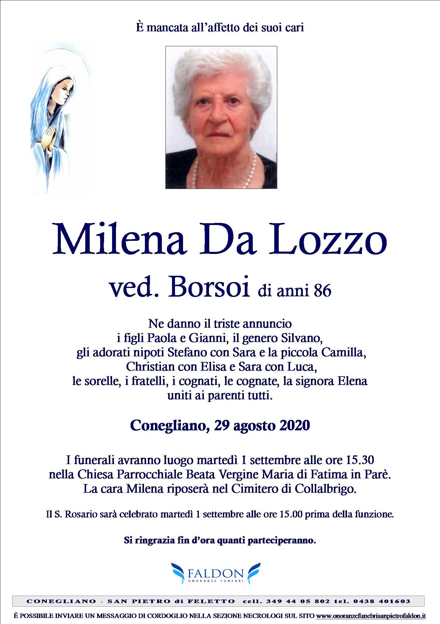 Milena Da Lozzo