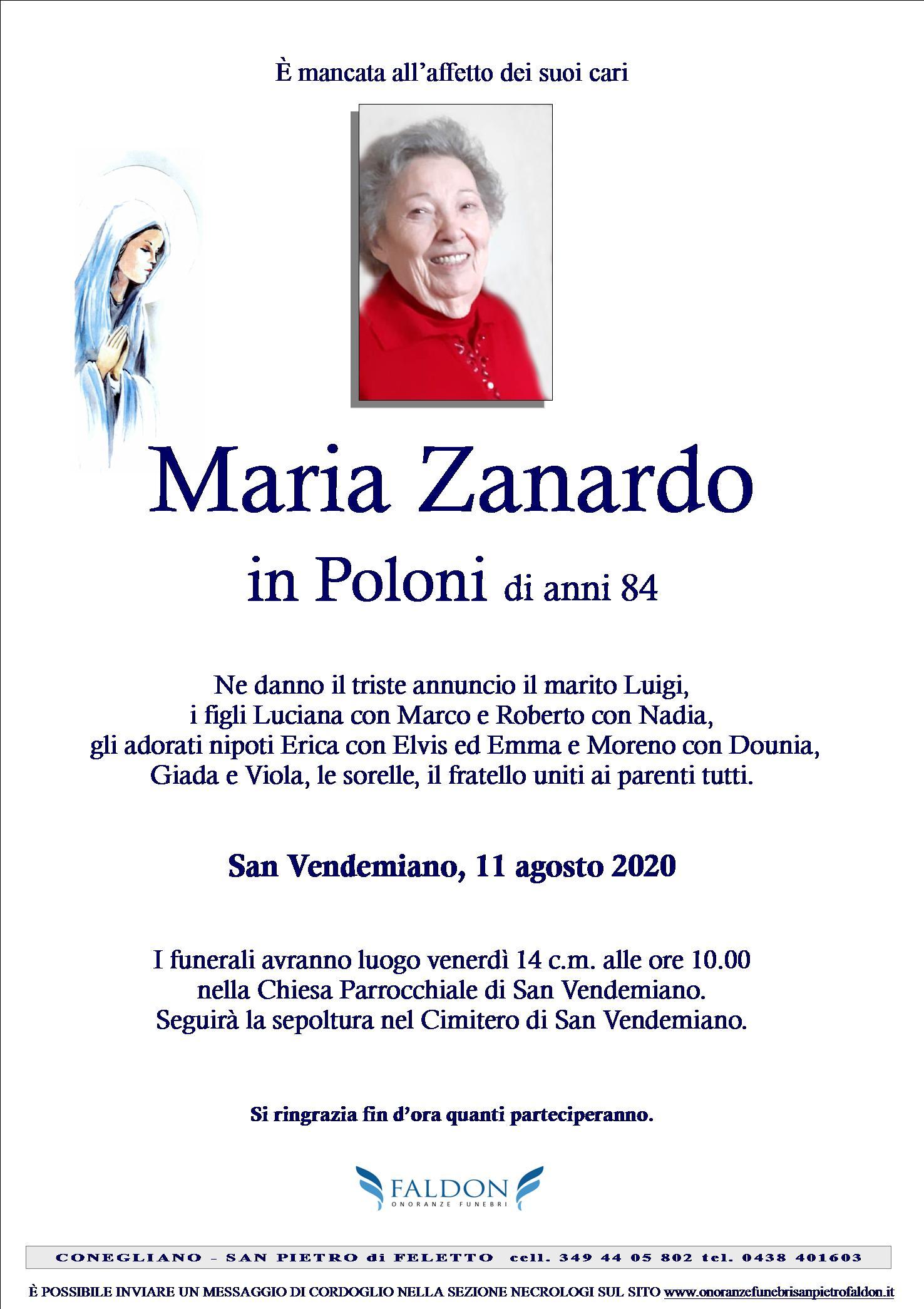 Maria Zanardo