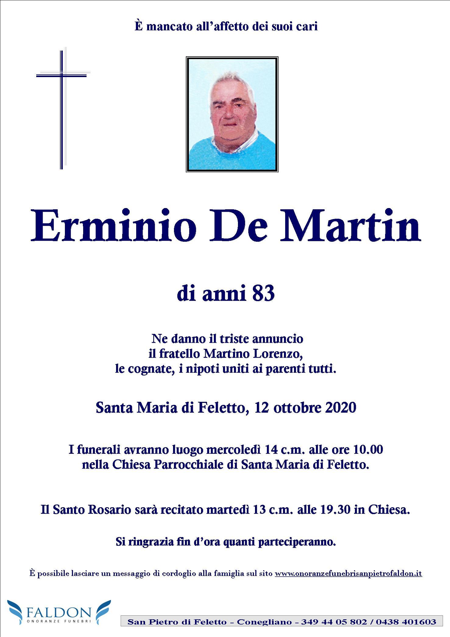 Erminio De Martin