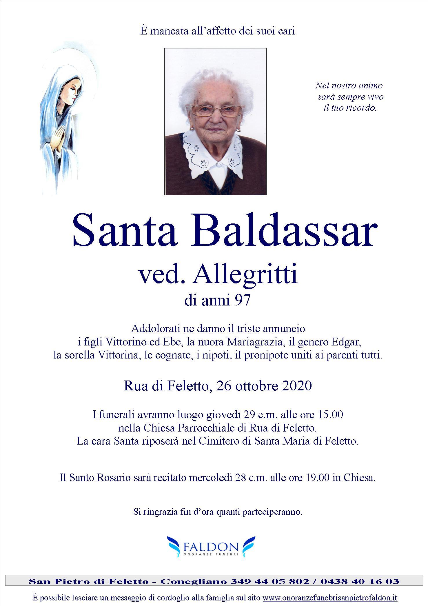 Santa Baldassar