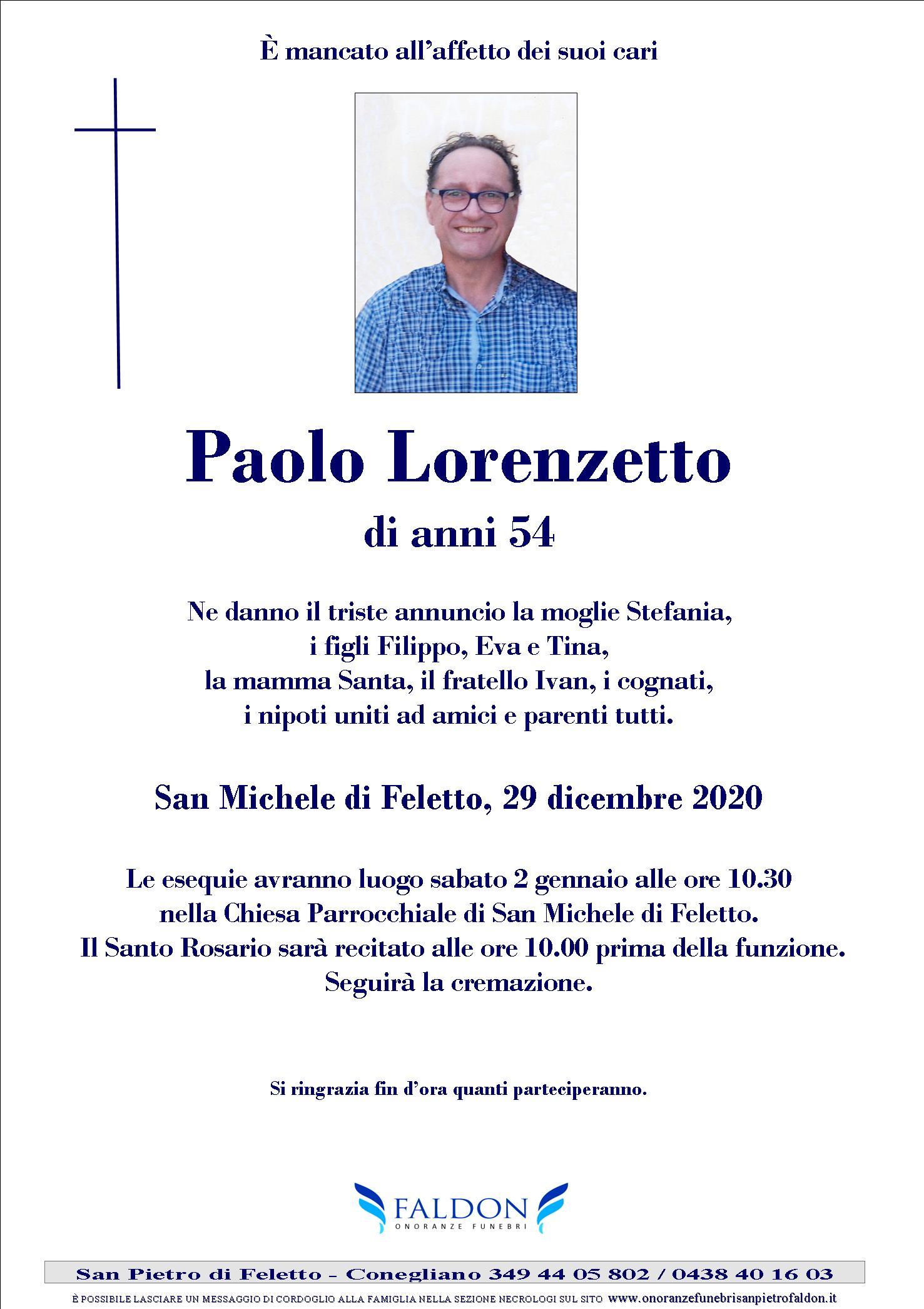 Paolo Lorenzetto