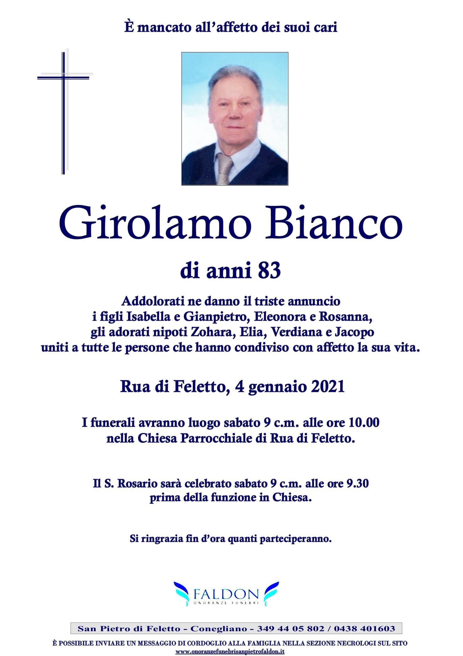 Girolamo Bianco