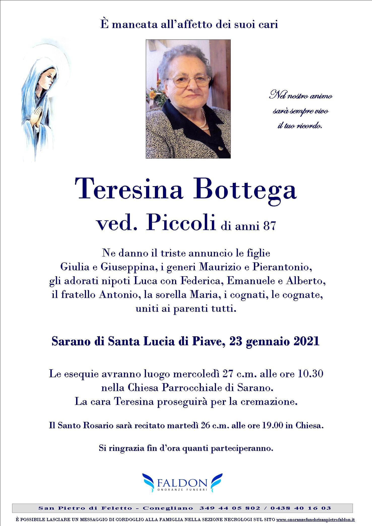 Teresina Bottega