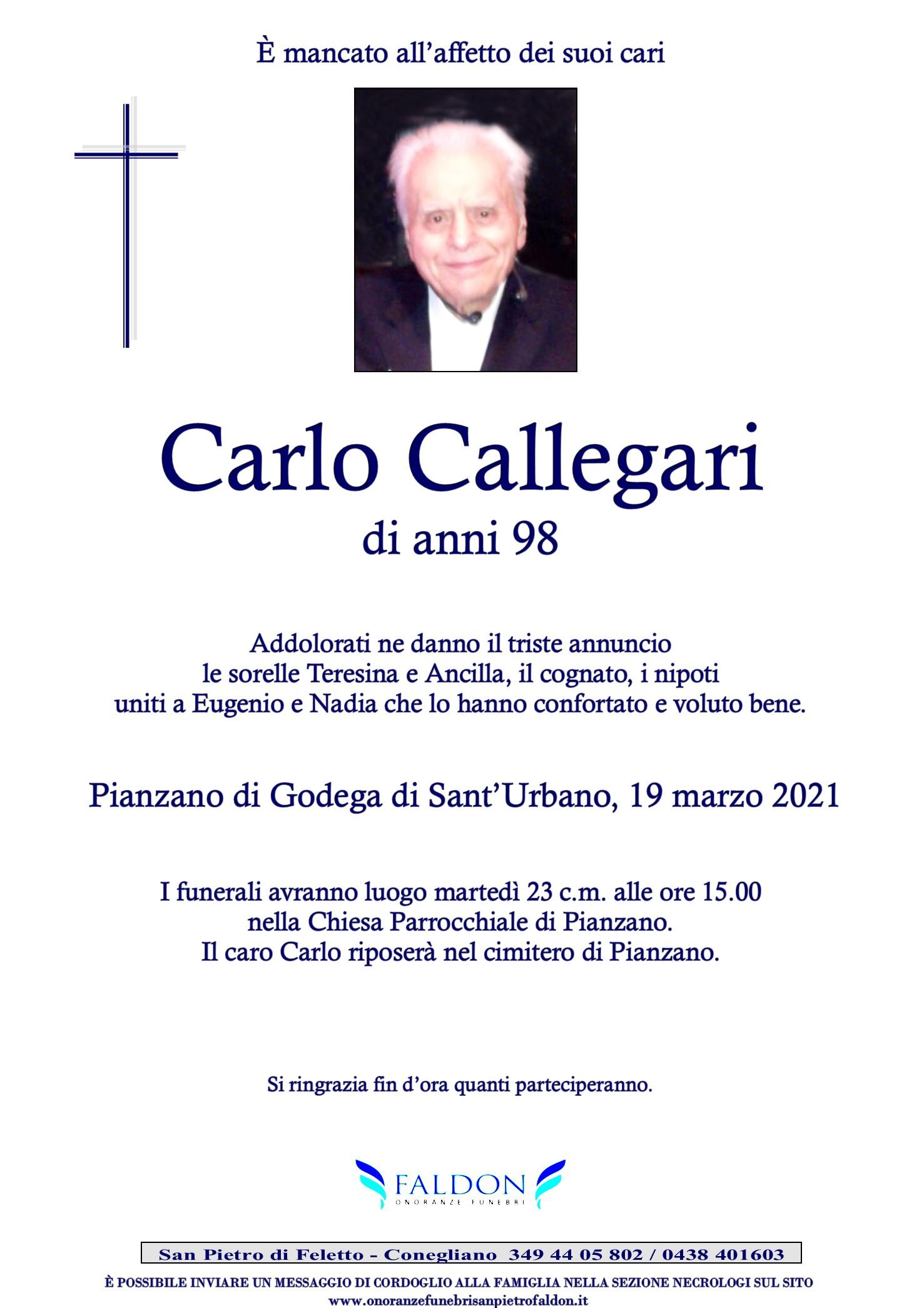 Carlo Callegari