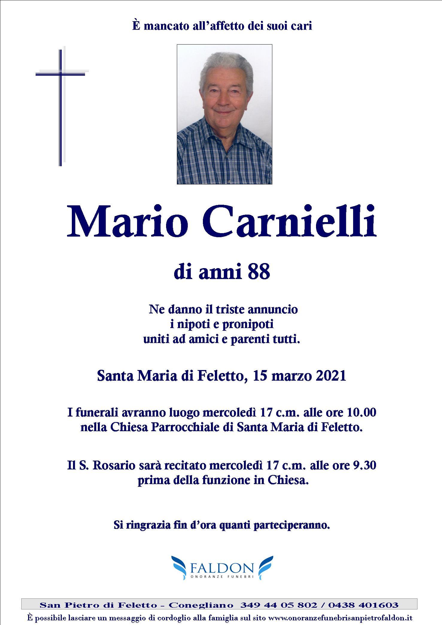 Mario Carnielli