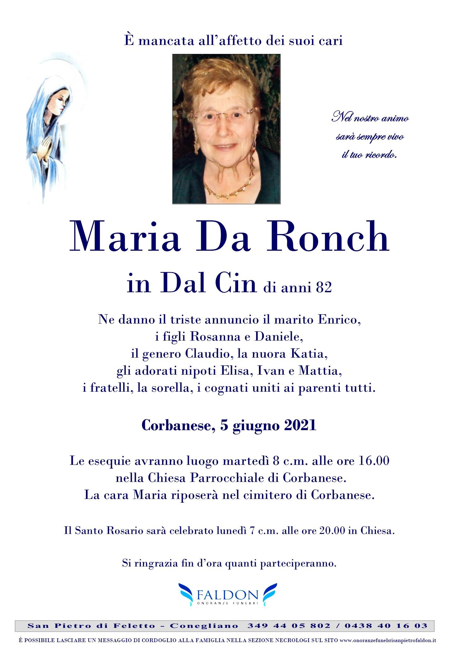 Maria Da Ronch